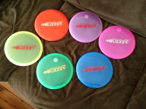 These are the 6 that I ordered from discgolfcenter.com