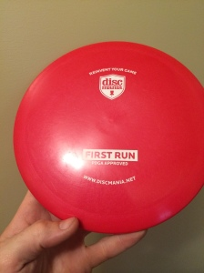 Discmania G-Line FD, max weight 175g.
